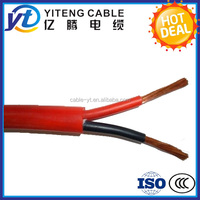 AWG18 AWG22 200 Degree Low Voltage Multi-Core Silicone Rubber Insulated Electric Power Cable