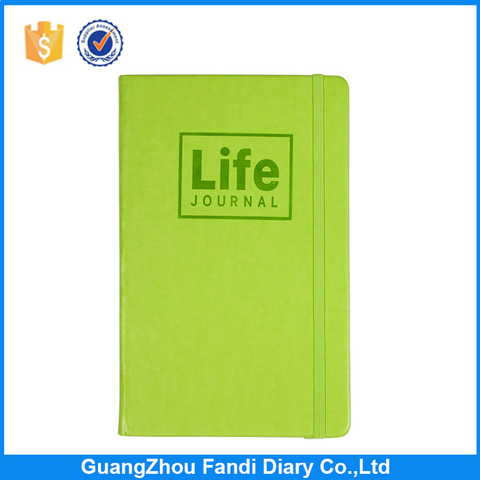 Wholesale High Quality School stationery PU leather diary note books