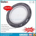 130Lm/W high lumens 100W LED high bay light for warehouse superstore showroom storage factory workshop
