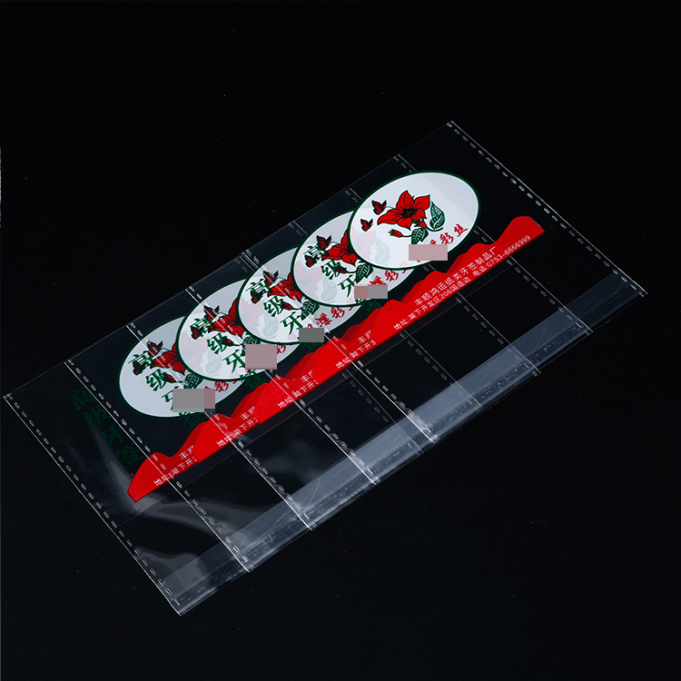 OPP Plastic Self Adhesive Clear Bag For toothpick