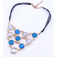 China wholesale market newest design statement necklace