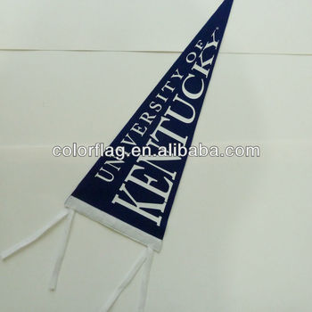 hot selling 280g felt flags customized pennant flags