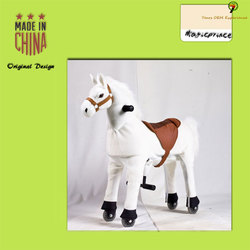 Dalian Magic Prince Factory With 8 years experiences kids ride on toys horse looking for distributor