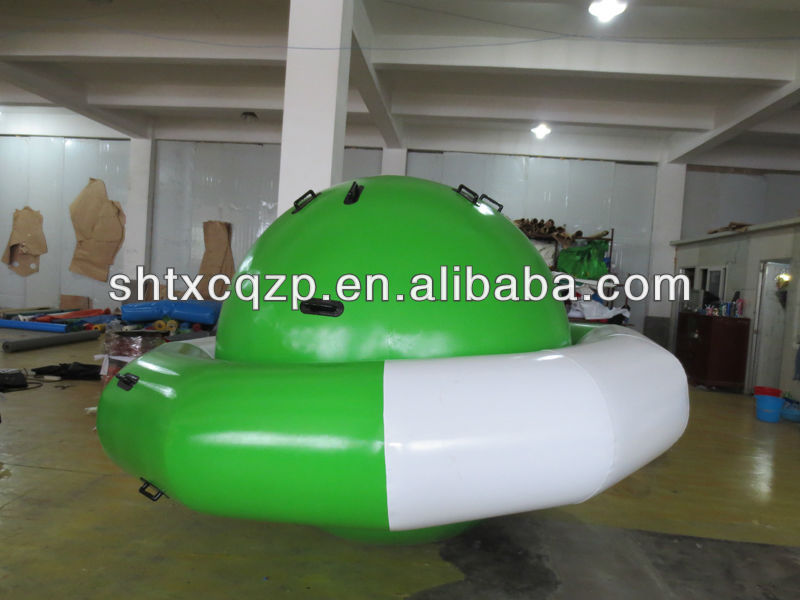 inflatable water sports toy for water park peg top