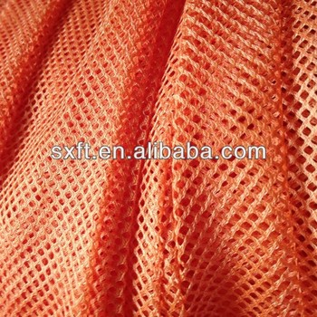100% polyester knit poly mesh fabric