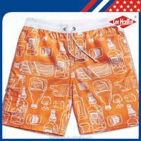 Custom Design mens swimwear surf board shorts Beachwear