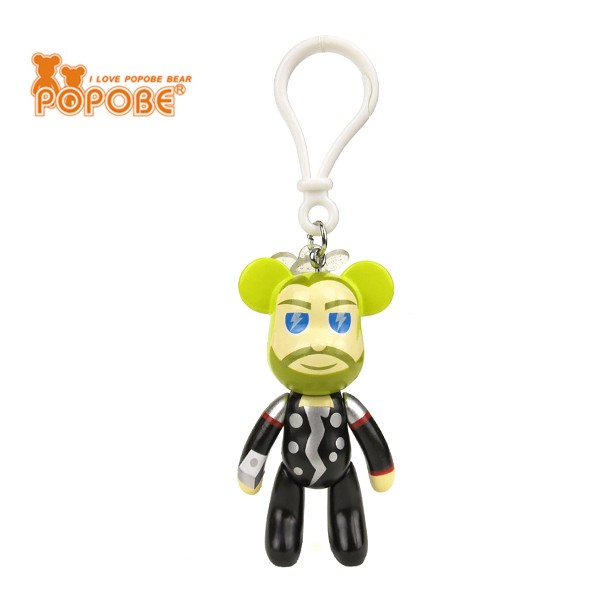 2016 Action Figure Keychain Movie Character Plastic Key Ring For OEM Design