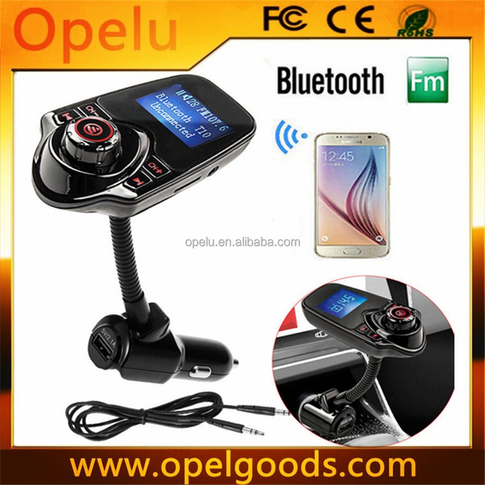 LCD USB Charger FM Transmitter MP3 Player handsfree bluetooth car kit