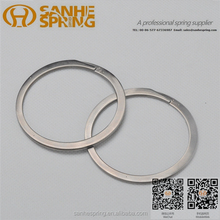 Stainless steel retaining ring snap springs
