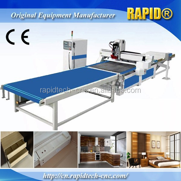 Agent price! 1300*2500mm MDF/office furniture use router cnc