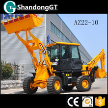 Hot sale 1.2 ton small used backhoe loader second hand backhoe loader excavator