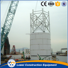 Quick install bolted-type 50T-500T silos for asphalt equipment
