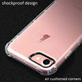 DFIFAN Hot sale mobile phone cases for iphone 8 , thick Anti shock clear shockproof covers for iphone 8 plus case