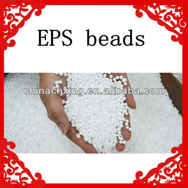 White color EPS foam beads