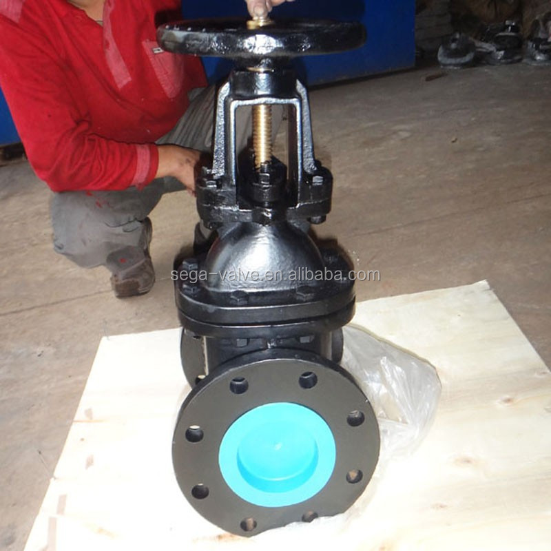 sluice gate valve Cast Iron Flanged Gate Valve manufacturer