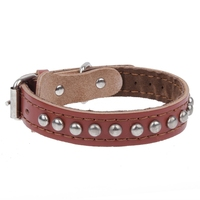 Genuine Leather Dog Collar For Dog Collar Leather De Perros Accessories Collier Chien Pet Leather Dog Collar