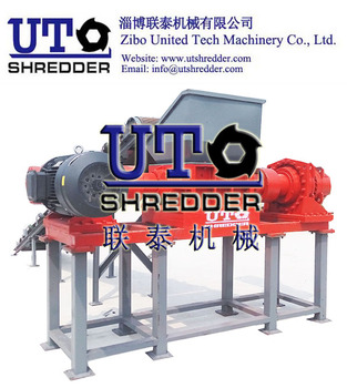 Twin Shaft Shredder / Two Shear Shredder/ Double Shaft Shredder/ Plastic Shredder