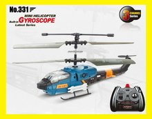 Venta caliente! jxd 331 <span class=keywords><strong>cobra</strong></span> 3CH micro RC Helicopter RTF W/Gyro