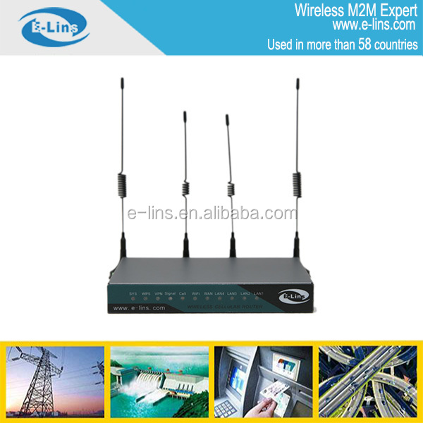Industrial H820 4g router for M2M