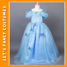 New custom made kids Flower Girl Princess Dress Kids Party cinderella cosplay princess costumes PGCC-1874