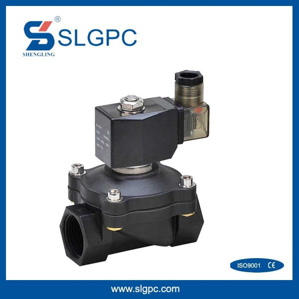 2 way 2 position plastic steel type normal close join connector solenoid vale SLGPC-2P160-15