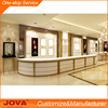Modern design MDF wood glass jewelry display showcase / jewellery shop furniture