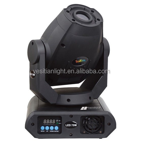 professional 60W led spot moving head rotating prism Noble DMX 60w led gobos beam moving