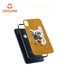 Free sample ultra thin funky cartoon mobile phone case for iphone X
