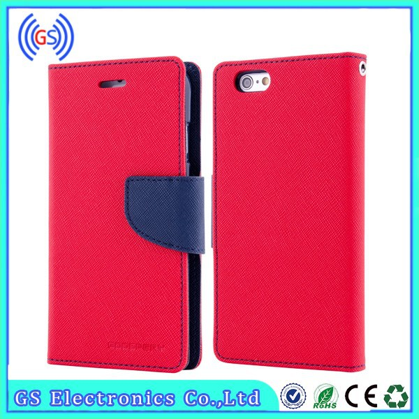 "For Iphone 6 5"" inch Leather Case From China Supplier"