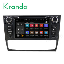 Krando Android 7.1 car radio gps dvd player for bmw 3 series e90 e91 e92 e93 2005-2012 navigation multimedia system KD-BW190
