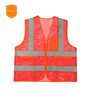 Cheap Reflective Safety Vest Clothing With Pockets Custom