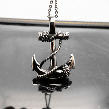 New Design Handmade Silver Anchor Charm Pendants For Jewerly Making