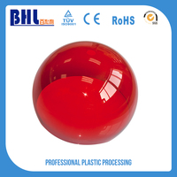 New design red plastic blister cover sheets case