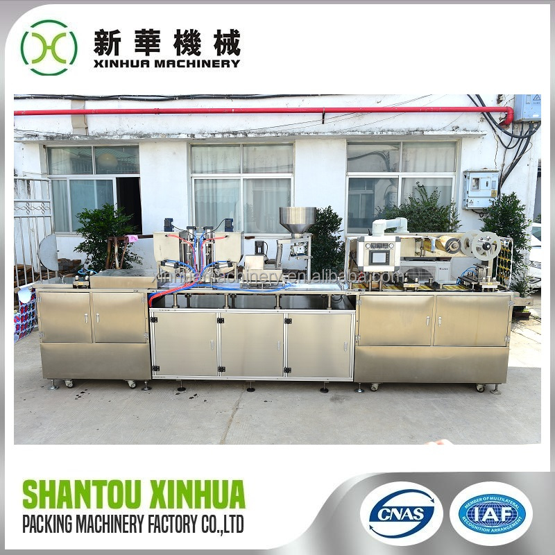 Professional unsalted lactic butter packing machine with certificate