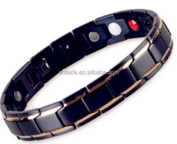 316L Classic Stainless Steel Cuff magnetic bracelet