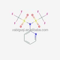 CAS:145100-50-1; 2-[N,N-BIS(TRIFLUOROMETHYLSULFONYL)AMINO]PYRIDINE; N-(2-Pyridyl)bis(trifluoroMethanesulfoniMide); Large supply