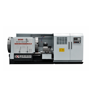 QK1338 QK1343 QK1350 Heavy Duty Two chucks CNC Lathe Pipe Threading CNC Lathe Machine Price