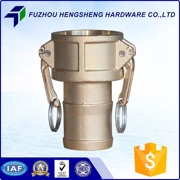 Special Hot Selling Coupling Type C Brass Camlock