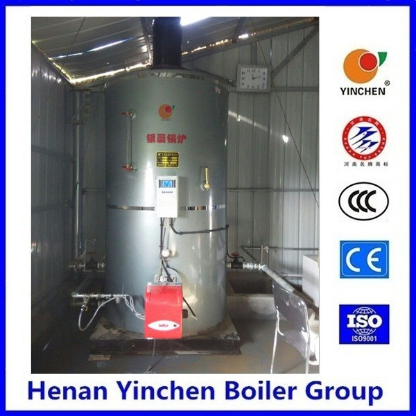 First choice vertical type water tube waste oil fired heater with baltur burner