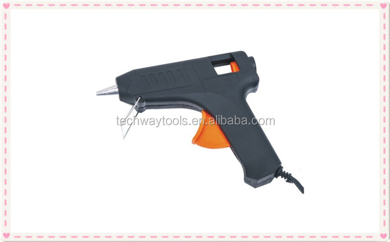 professional aluminum nozzle hot melt glue gun