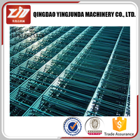 plastic-coated wire fence for road yard and airport