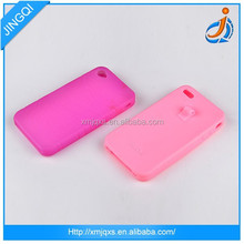 Soft new design silicone phone case for lovers couple
