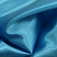 100% polyester garment material tricot shiny satin fabric