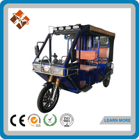 1000W battery power electric tricycle India Hot HS-R6 -adult electric tricycle