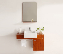Customized free standing corner vanity cabinet with price