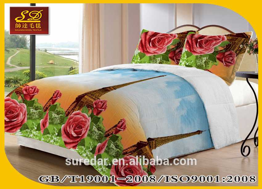 Shuaida 100% Polyester borrego blanket polyester facts