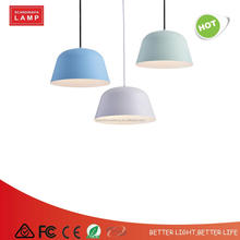 Colorful roof industrial vintage pendant lamp with CE approval