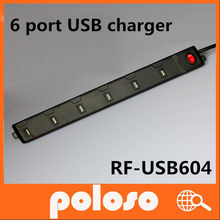 6 ports USB charger canon camera battery charger