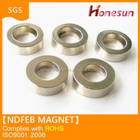 permanent sintered N52 motor/rotor ndfeb magnet in China