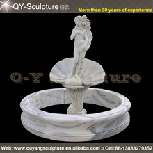 Hand Carved Marble Nude Women Fountain